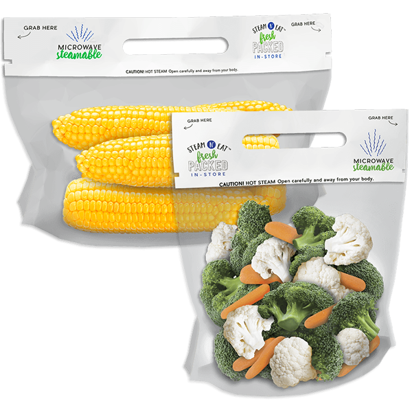 Ready to cook convenience - Steam N Eat®