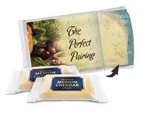 Individually Flow Wrapped Snack Proportioned Cheeses